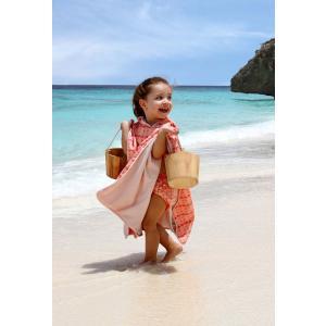 Lassig - 1433003818 - Poncho de plage filles Flamant rose (406310)