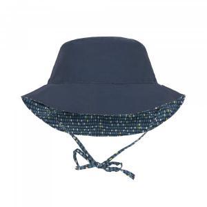 Lassig - 1433005450-12 - Chapeau de soleil réversible à pois garçons - 06-18 mois (406352)