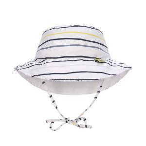 Lassig - 1433005116-06 - Chapeau de soleil réversible Marin - 6 mois (406362)