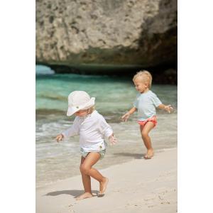 Lassig - 1433006100-18 - Casquette protège nuque blanc - 18 mois (406386)