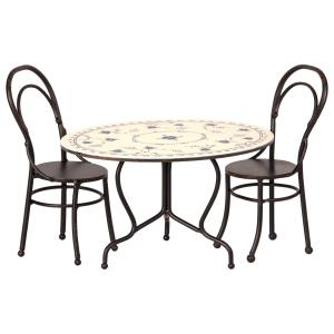 Maileg - 11-9101-00 - Dining table set, Mini (406456)