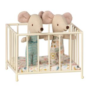 Maileg - 11-9105-00 - Playpen, MY - Off white (406460)