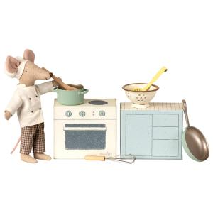Maileg - 11-9108-00 - Cooking set (406464)