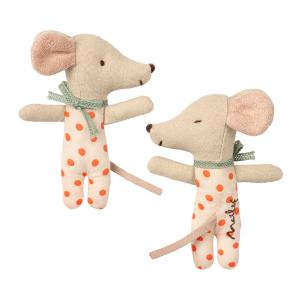 Maileg - 16-9710-01 - Baby mouse, Sleepy/wakey in box - Girl (406498)