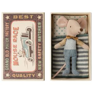 Maileg - 16-9721-01 - Little brother mouse in box - Taille 10 cm - de 0 à 36 mois (406508)