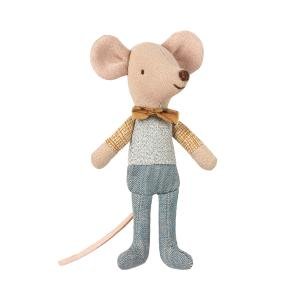 Maileg - 16-9721-01 - Little brother mouse in box (406508)
