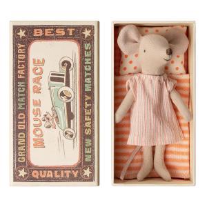 Maileg - 16-9732-01 - Big sister mouse in box - Taille 12 cm - de 0 à 36 mois (406512)
