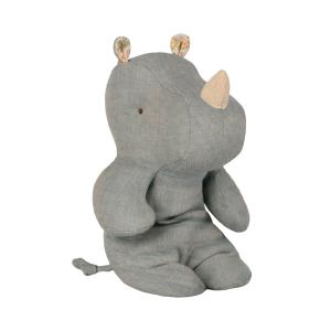 Maileg - 16-9921-00 - Safari friends, Small rhino - Dove blue (406570)