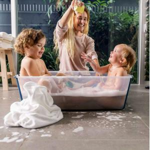 Stokke - 535901 - Baignoire pliante Flexi Bath® X-Large blanc (406624)