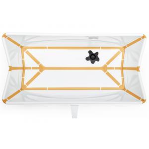 Stokke - 531909 - Baignoire pliante Flexi Bath® Blanc-jaune (406626)