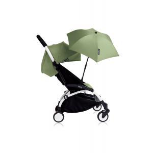 Babyzen - Bu125 - Poussette YOYO+ 6+ (cadre blanc) Peppermint et son ombrelle (406638)