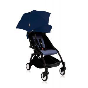 Babyzen - Bu140 - Poussette YOYO+ 6+ (cadre noir) Beu Air France et son ombrelle (406668)