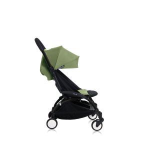Babyzen - Bu152 - Poussette YOYO+ 6+ (cadre noir) Peppermint et repose-pieds (406692)