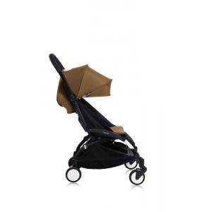 Babyzen - Bu156 - Poussette YOYO+ 6+ (cadre noir) Toffee et repose-pieds (406700)