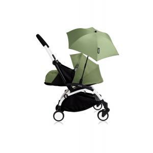 Babyzen - Bu197 - Poussette YOYO+ 0+ (cadre blanc) Peppermint et son ombrelle (406782)