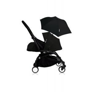 Babyzen - Bu202 - Poussette YOYO+ 0+ (cadre noir) Noir et son ombrelle (406792)