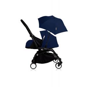 Babyzen - Bu203 - Poussette YOYO+ 0+ (cadre noir) Beu Air France et son ombrelle (406794)