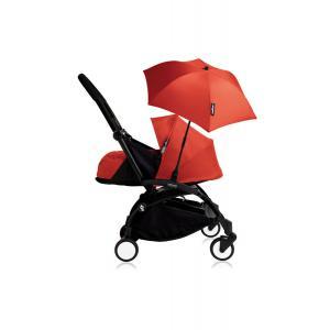 Babyzen - Bu204 - Poussette YOYO+ 0+ (cadre noir) Rouge et son ombrelle (406796)