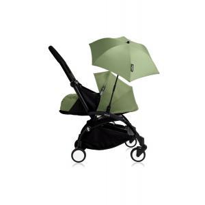 Babyzen - Bu206 - Poussette YOYO+ 0+ (cadre noir) Peppermint et son ombrelle (406800)