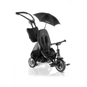 Puky - 2418 - City-Premium tricycle - noir - modèle CAT S6 CEETY (406856)