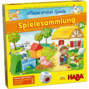 Haba - 304498 - Mes premiers jeux – Collection de jeux La ferme (407196)