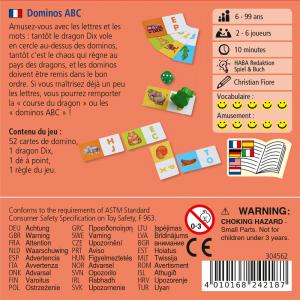 Haba - 304562 - Dominos ABC (407238)