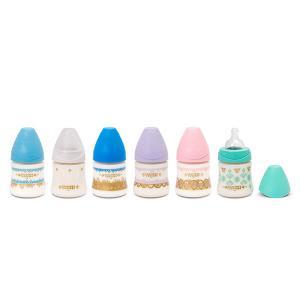 Suavinex - 304130 - Biberon ethnic 150ml silicone rond - lilas (407970)