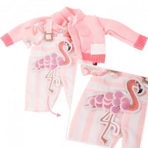 Gotz - 3403022 - Ensemble bébé, Pretty Flamingo (408402)