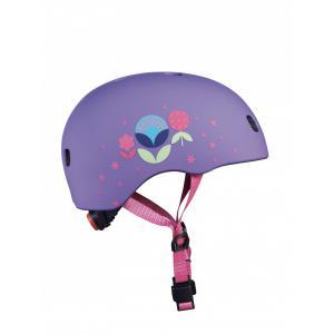 Micro - AC2084 - Casque Fleurs - Nouvelle gamme - boucle magnétique / lumière LED intégrée - Taille S        !! NOUVEAU !! (408576)