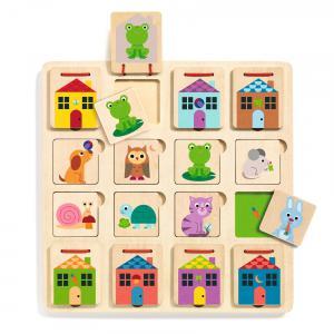 Djeco - DJ01520 - Puzzles bois -  Cabanimo (408710)