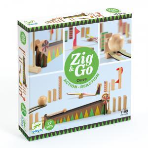 Djeco - DJ05641 - Zig et Go -  Zig et Go - 5641 - 27 pièces (408750)