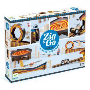 Djeco - DJ05643 - Zig et Go -  Zig et Go - 5643 - 45 pièces (408754)