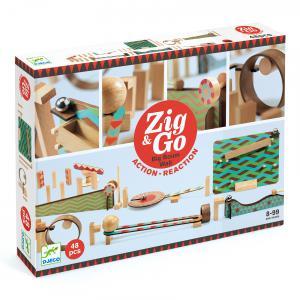 Djeco - DJ05644 - Zig et Go -  Zig et Go - 5644 - 48 pièces (408756)