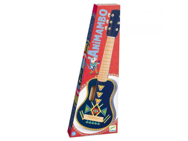 Animambo guitare 6 cordes métalliques