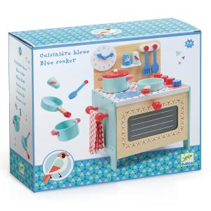 Djeco - DJ06507 - Imitation - Gourmandises -  Cuisinière bleue (408804)