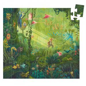 Djeco - DJ07244 - Puzzles silhouettes -  Dans la jungle - 54 pièces (408840)