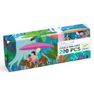 Djeco - DJ07607 - Puzzles Gallery -  Children's walk - 200 pièces (408848)