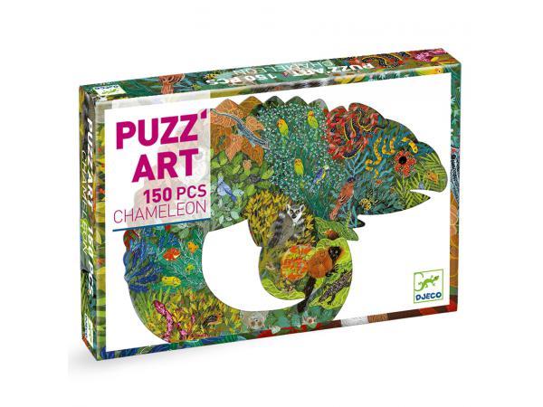 Puzz'art - chameleon - 150 pièces