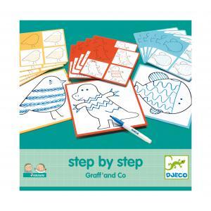 Djeco - DJ08324 - Eduludo -  Step by step Graff' and Co (408862)