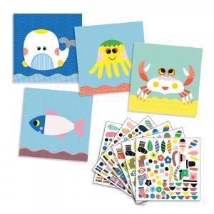 Djeco - DJ08931 - Stickers des petits - Marins (408926)