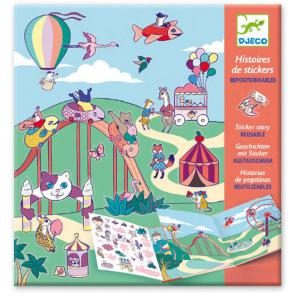 Djeco - DJ08952 - Stickers - La fête foraine (408928)