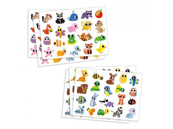 Stickers des petits - bébés animaux
