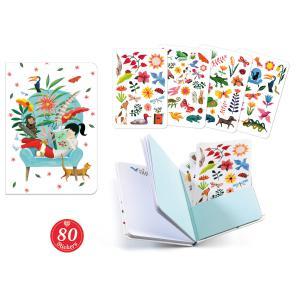 Djeco - DD03576 - Carnets stickers  - Sarah (409108)