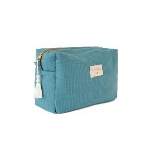 Nobodinoz - N110660 - Trousse waterproof Diva 25x16x10 cm Magic green (409232)