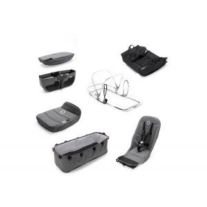 Bugaboo - 180121GM01 - Bugaboo Donkey2 style set GRIS CHINÉ (409242)