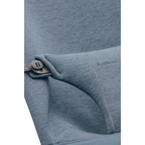 Babybjorn - 012031 - Housse pour Transat, Bliss, Bleu chiné, Jersey 3D (410236)