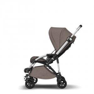Bugaboo - 500230AM01 - Poussette Bee5 - style set MINERAL TAUPE (410298)