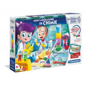 Clementoni - 52344 - Jeux scientifique - Mon Laboratoire de Chimie (410932)