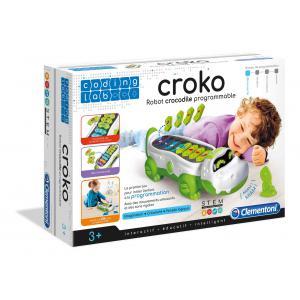Clementoni - 52384 - Jeux éducatifs petit savant - Croko - Robot crocodile programmable (410986)