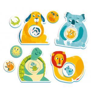 Clementoni - 52378 - Les câlins des mamans et leur petit - 2 ans et + (411018)